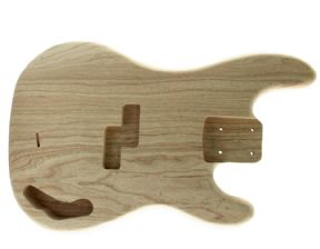 P BASS BODY SWAMP ASH UNFINISHED 5 STRING